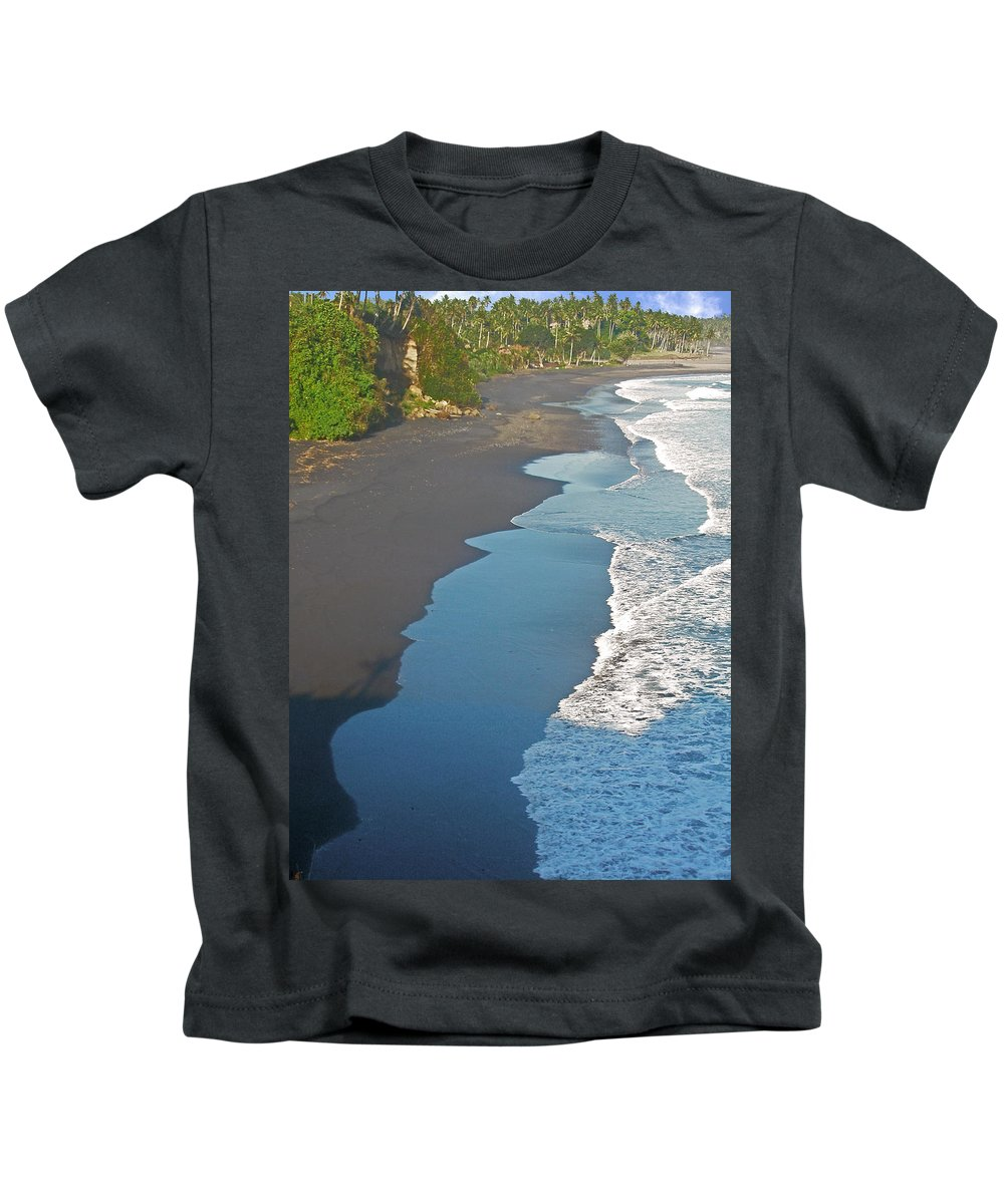Bali Kids T-Shirt featuring the photograph Bali Western Shore by Mark Sellers