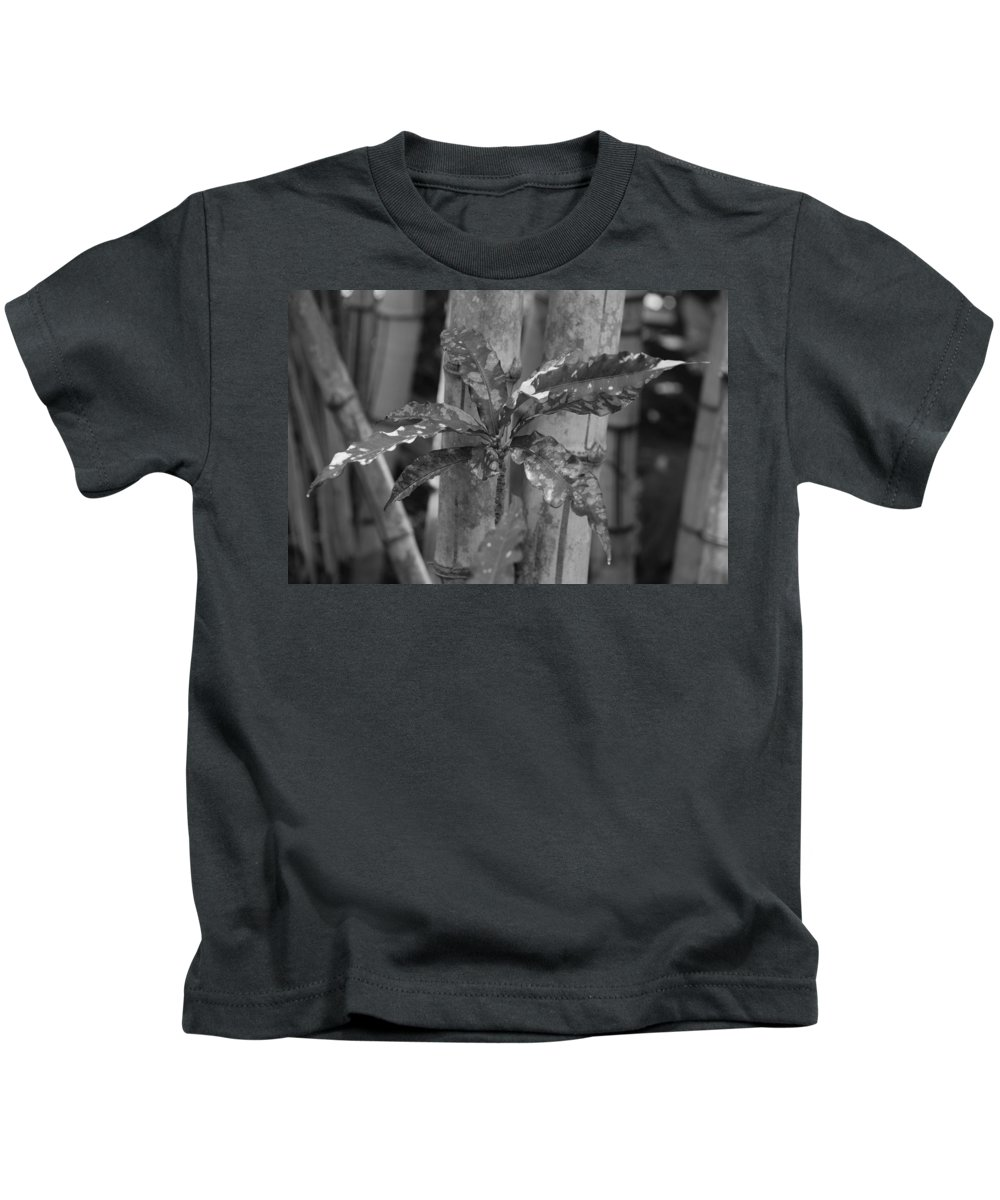 Macro Kids T-Shirt featuring the photograph Bamboo Flower by Rob Hans