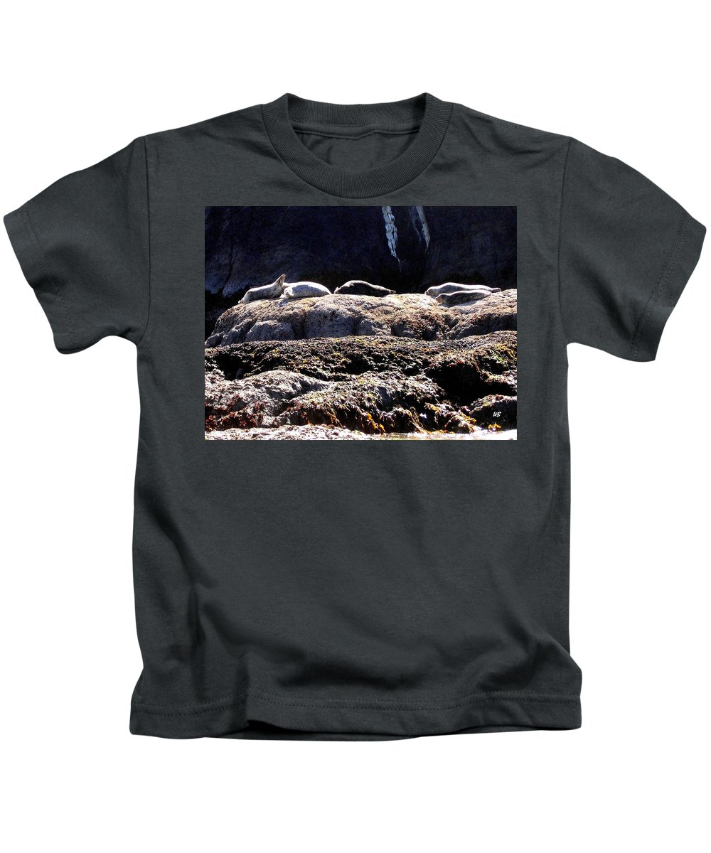 Bandon Kids T-Shirt featuring the photograph Bandon 11 by Will Borden