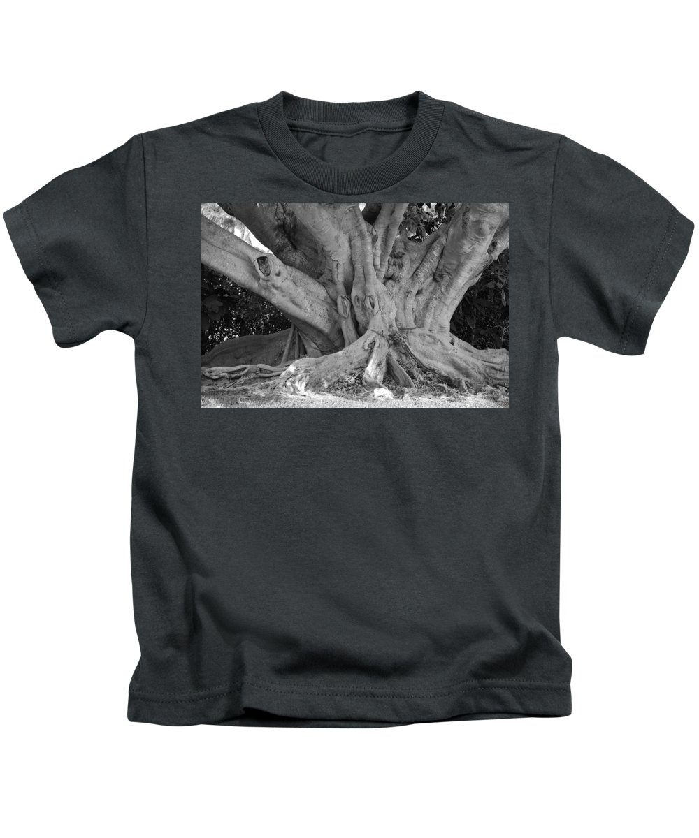 Tree Kids T-Shirt featuring the photograph Banyan Tree by Rob Hans
