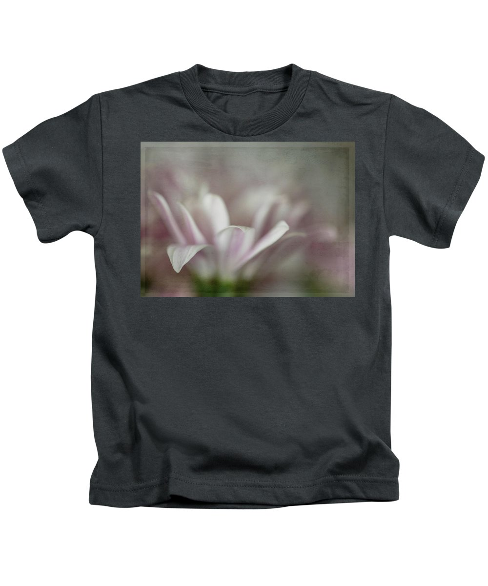 Flower Kids T-Shirt featuring the photograph Barely There by Teresa Wilson