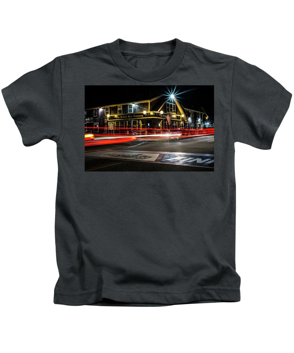 Kids T-Shirt featuring the photograph BBC by Kevin Friel