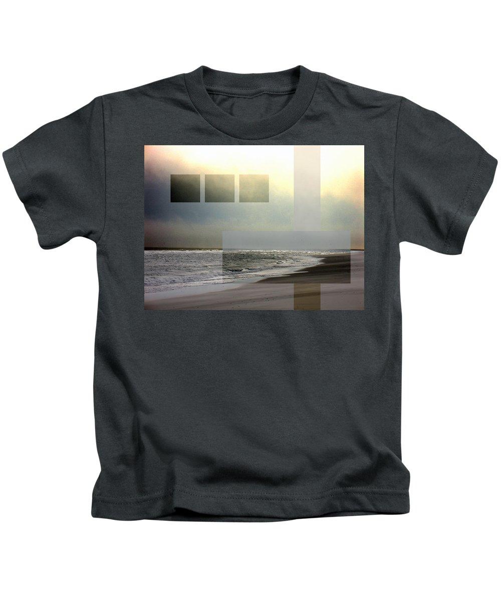 Beach Kids T-Shirt featuring the photograph Beach Collage 2 by Steve Karol