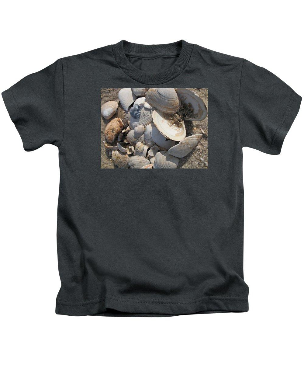 Beach Kids T-Shirt featuring the photograph Beach Still Life IIi by Christiane Schulze Art And Photography
