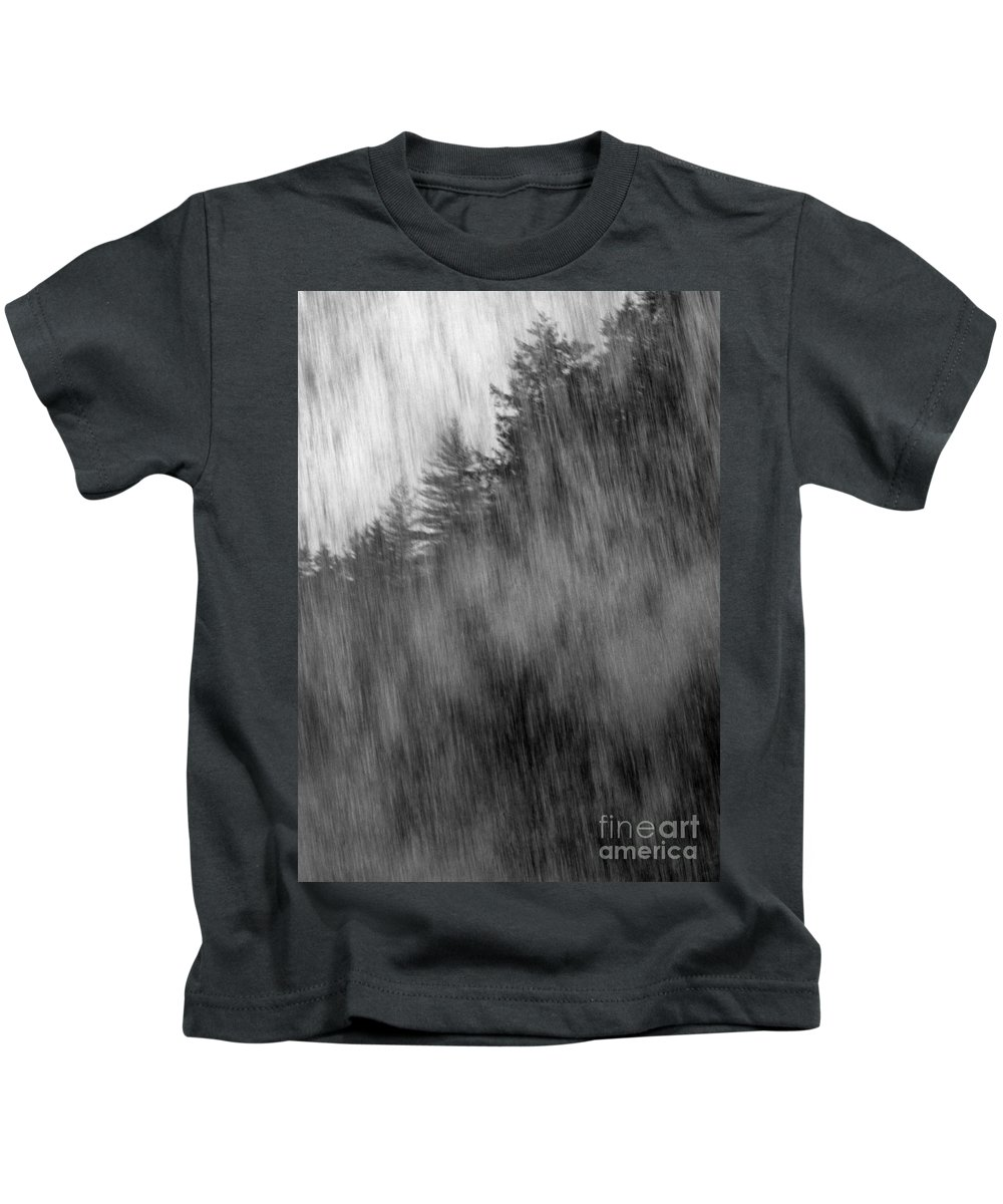 Waterfalls Kids T-Shirt featuring the photograph Behind The Falls by Richard Rizzo
