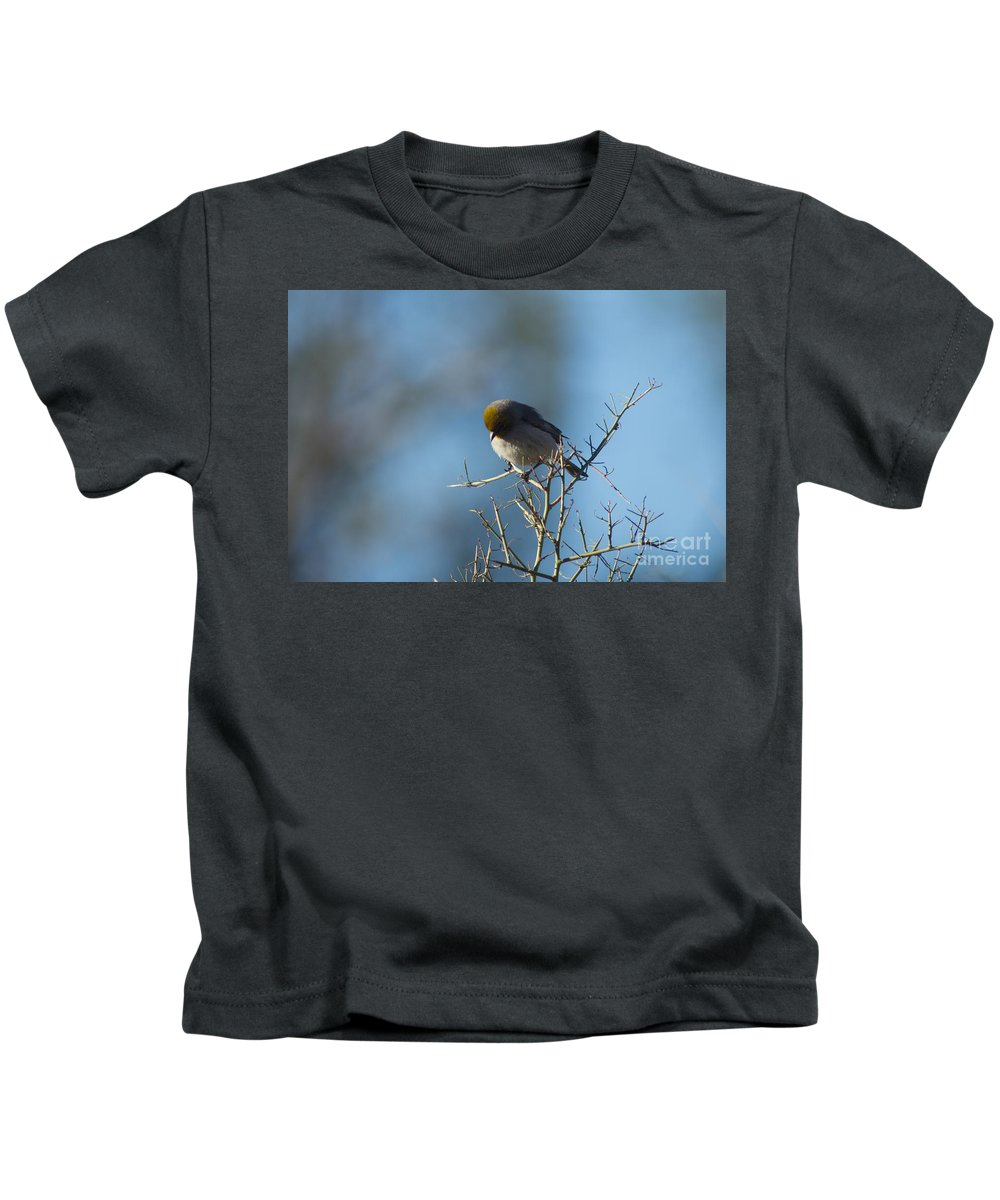 Kids T-Shirt featuring the photograph Bird At Pontatoc by Jason Ryder