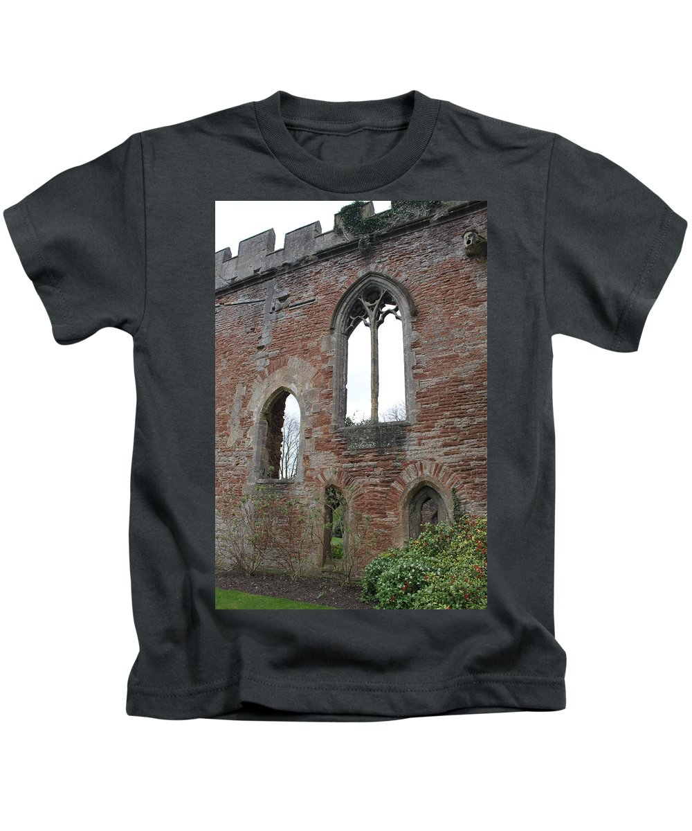 Bishops Palace Kids T-Shirt featuring the photograph Bishops Palace by Lauri Novak