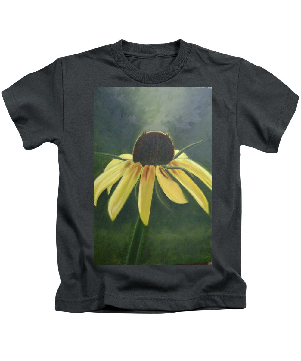Flower Kids T-Shirt featuring the painting Black Eyed Susan by Toni Berry