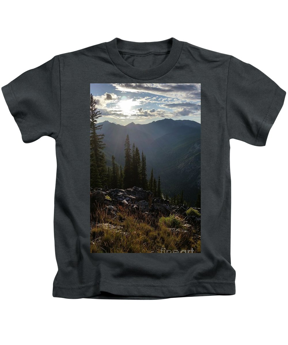 Landscape Kids T-Shirt featuring the photograph Blessed Place by Fred Kamps