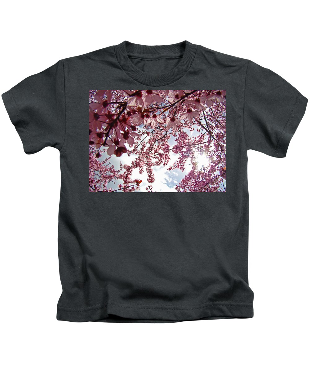 Tree Kids T-Shirt featuring the photograph Blossom Artwork Spring Flowers Art Prints Giclee by Baslee Troutman