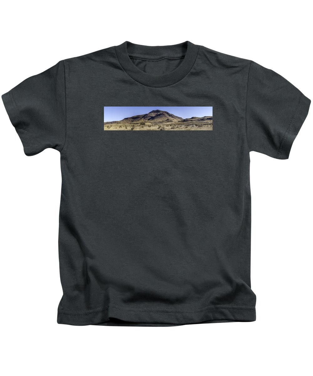 Blue Mountain Kids T-Shirt featuring the photograph Blue Mountain by Jim Collier