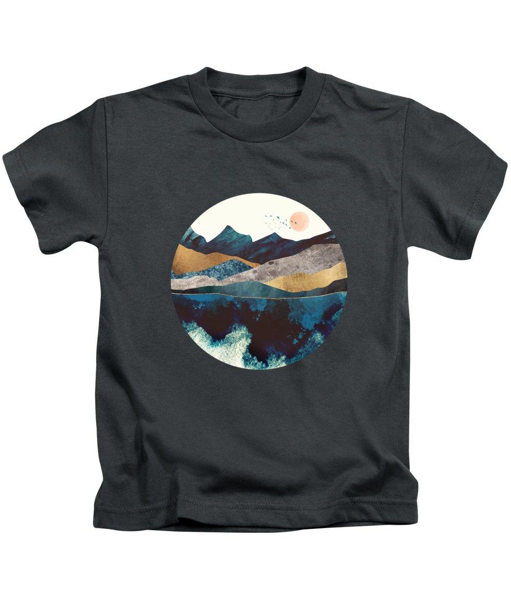 Reflections Digital Art Kids T-Shirts