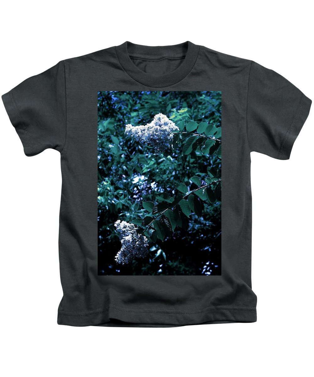 Landscape Kids T-Shirt featuring the photograph Blues And Greens by KG Thompson