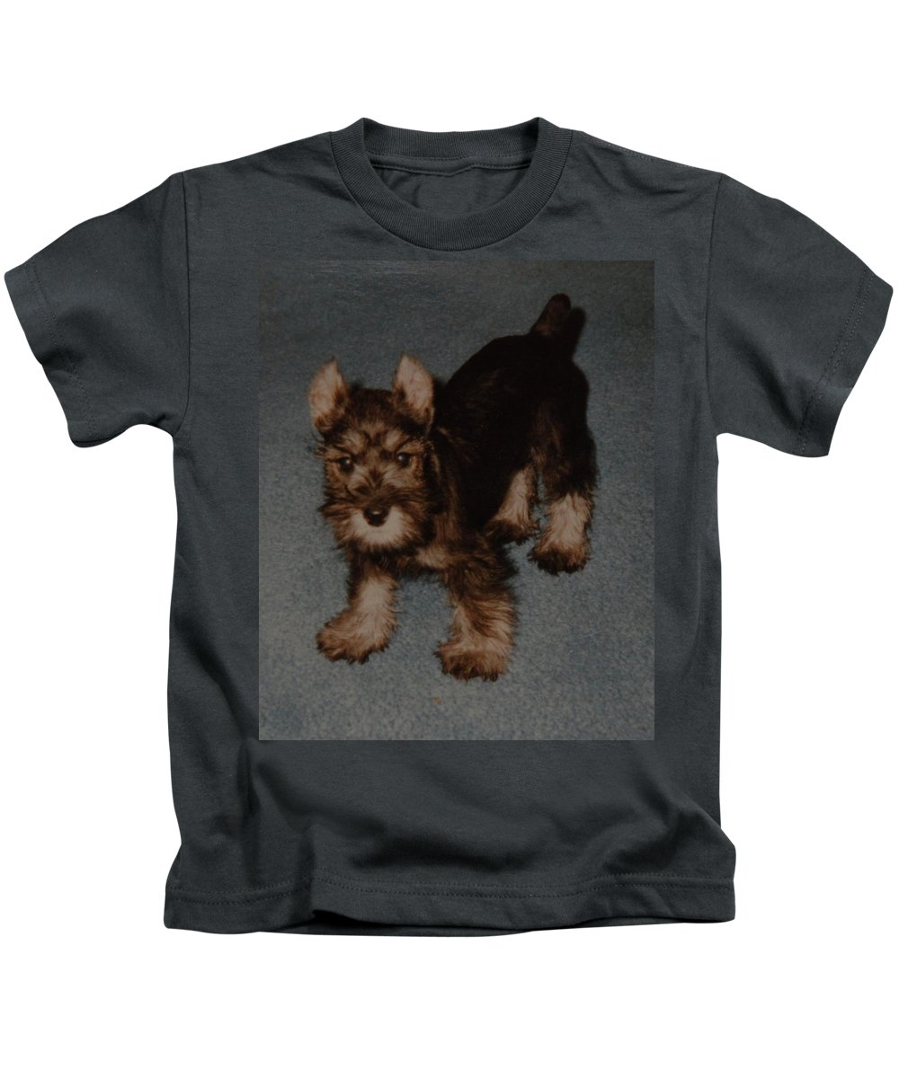 Dog Kids T-Shirt featuring the photograph Boo Boo by Rob Hans