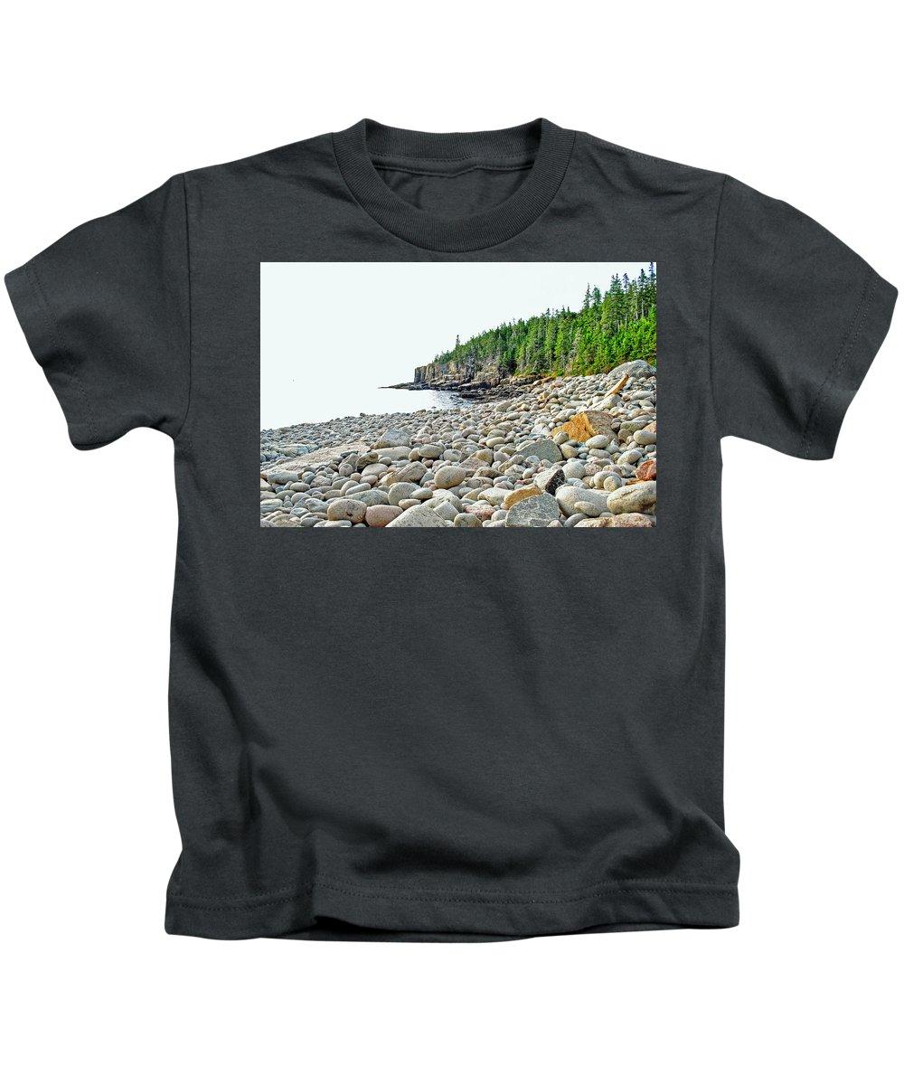 Boulder Beach Kids T-Shirt featuring the photograph Boulder Beach by Scott Coleman