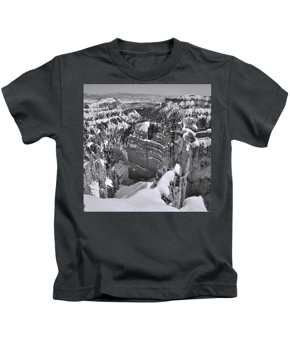 Adventure Kids T-Shirt featuring the photograph Brycecanyon 14 by Ingrid Smith-Johnsen