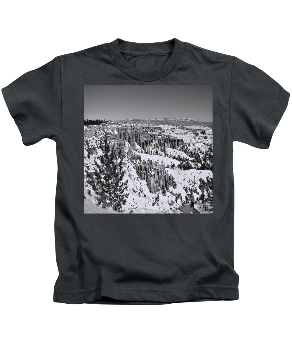 Adventure Kids T-Shirt featuring the photograph Brycecanyon 15 by Ingrid Smith-Johnsen