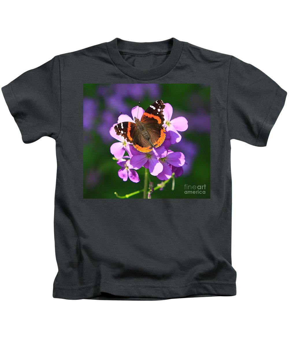 Related Tags: Butterfly Artwork Kids T-Shirt featuring the photograph Butterfly by Robert Pearson