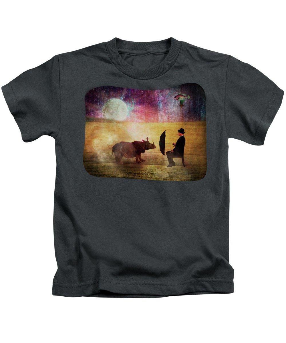 Rhinocerus Kids T-Shirts