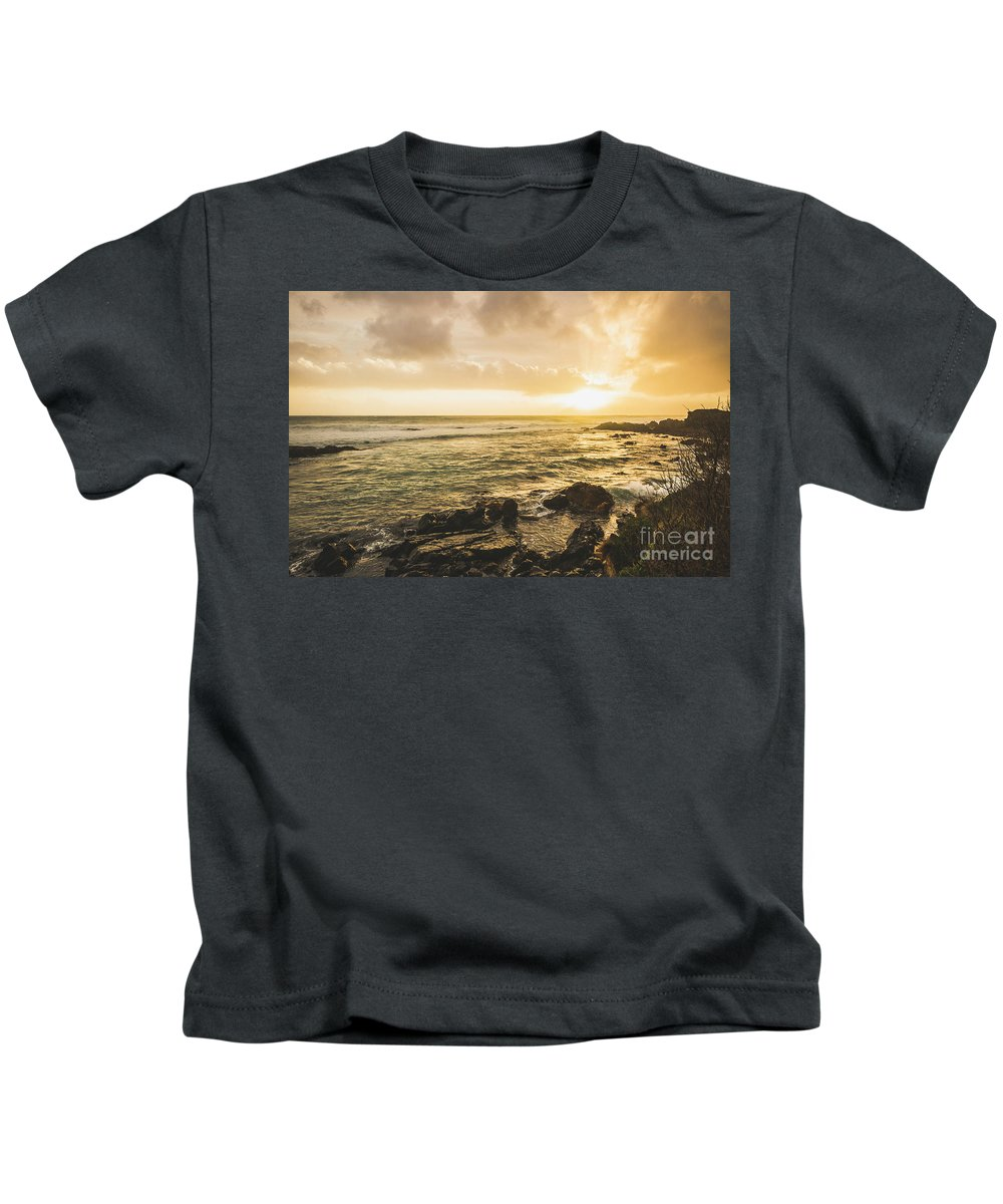 Water Kids T-Shirt featuring the photograph Calm After The Storm by Jorgo Photography - Wall Art Gallery