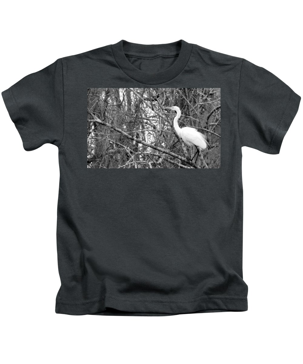 Bird Kids T-Shirt featuring the photograph Camouflage by Ed Smith