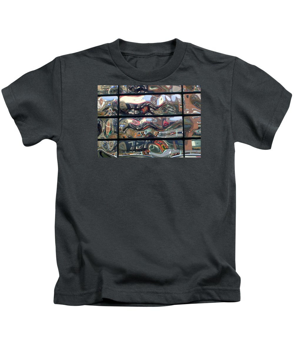 Amsterdam Kids T-Shirt featuring the photograph Canal Wave Amsterdam. by Rodger Insh