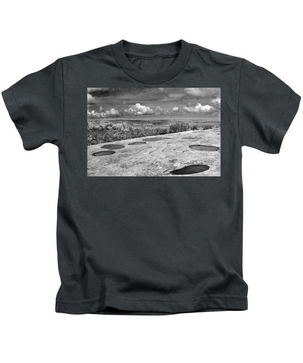 Americana Kids T-Shirt featuring the photograph Canyonlands Puddles by Marilyn Hunt