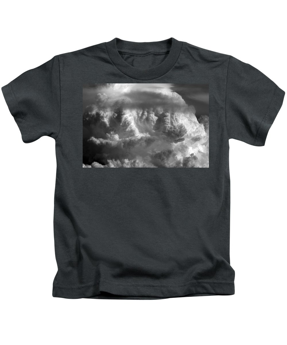 Cloud Photos Kids T-Shirt featuring the photograph Cb5.878 by Strato ThreeSIXTYFive