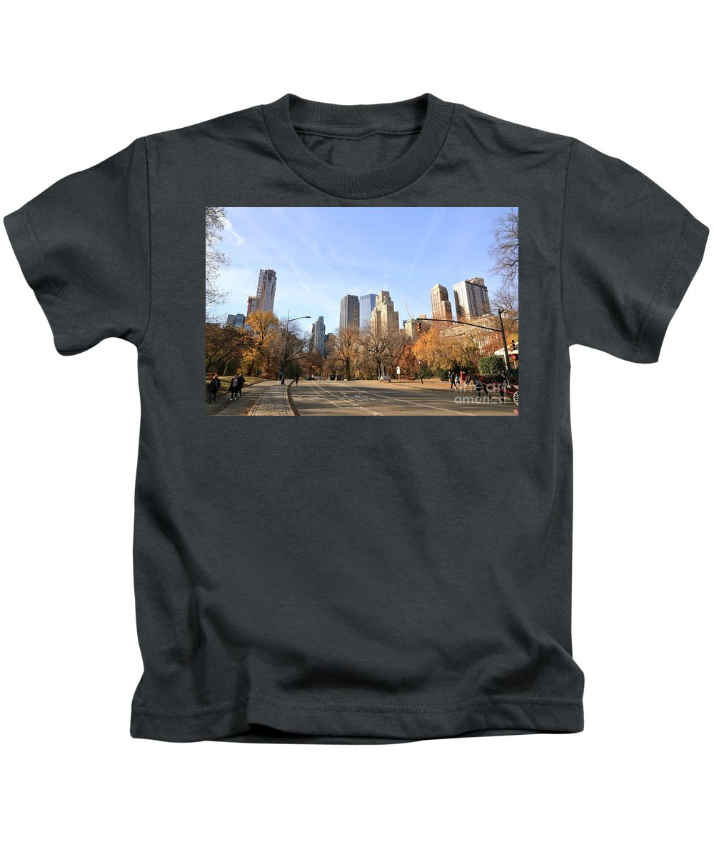 Destination Kids T-Shirt featuring the photograph Central Park New York City by Douglas Sacha