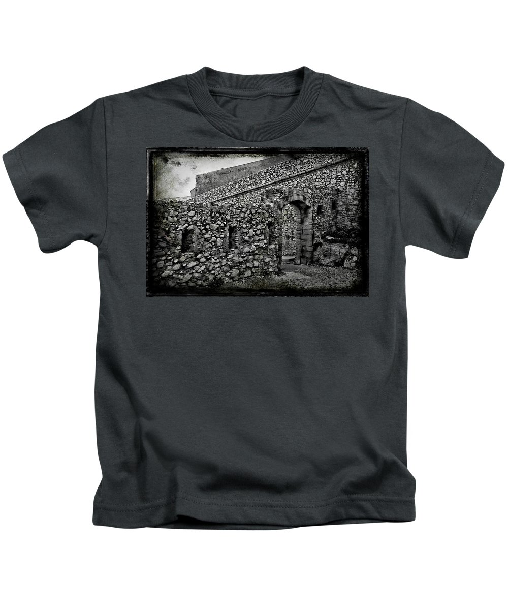 Fort Kids T-Shirt featuring the photograph Chateau D'if by Hugh Smith