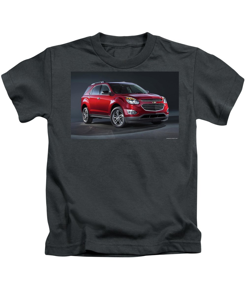 Chevrolet Equinox Ltz 120x1200 001 Kids T-Shirt featuring the digital art Chevrolet Equinox Ltz 2016 1920x1200 001 by Rose Lynn