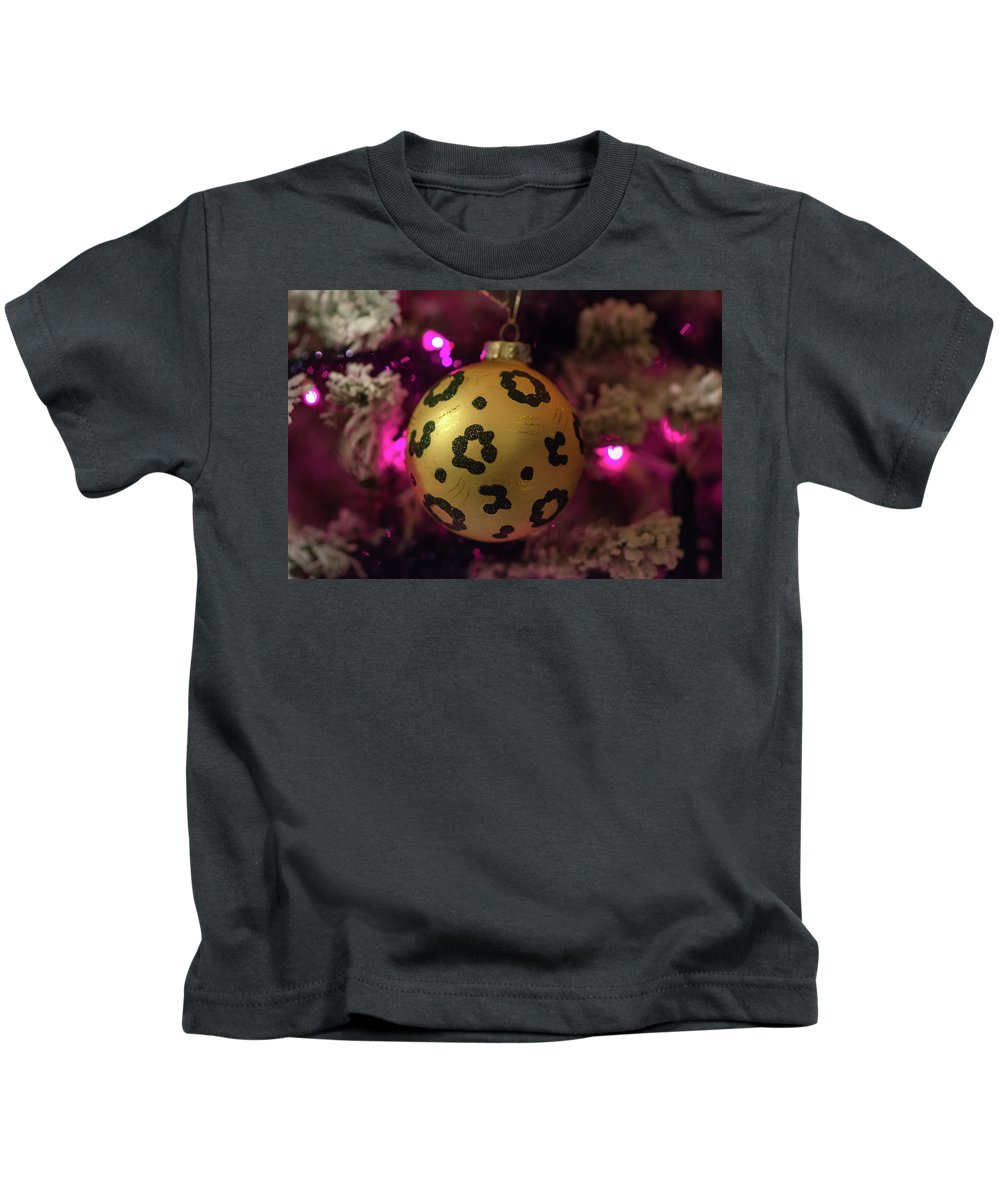 Christmas Kids T-Shirt featuring the photograph Christmas Ornament by Krystal Billett