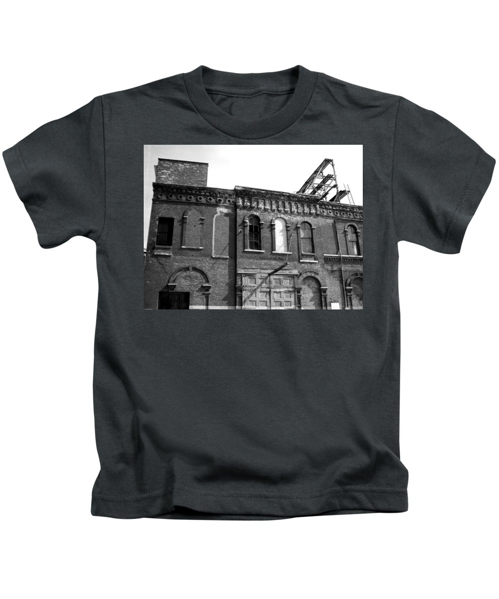 Milwaukee Kids T-Shirt featuring the photograph City Decay 1 by Anita Burgermeister