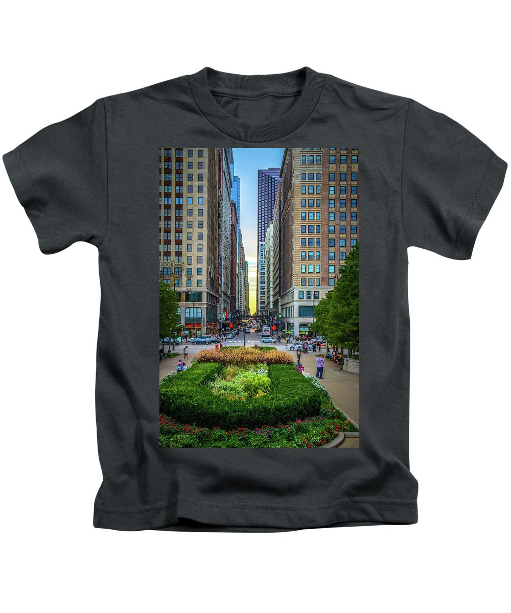 Chicago Kids T-Shirt featuring the photograph City Surreal by Tony HUTSON