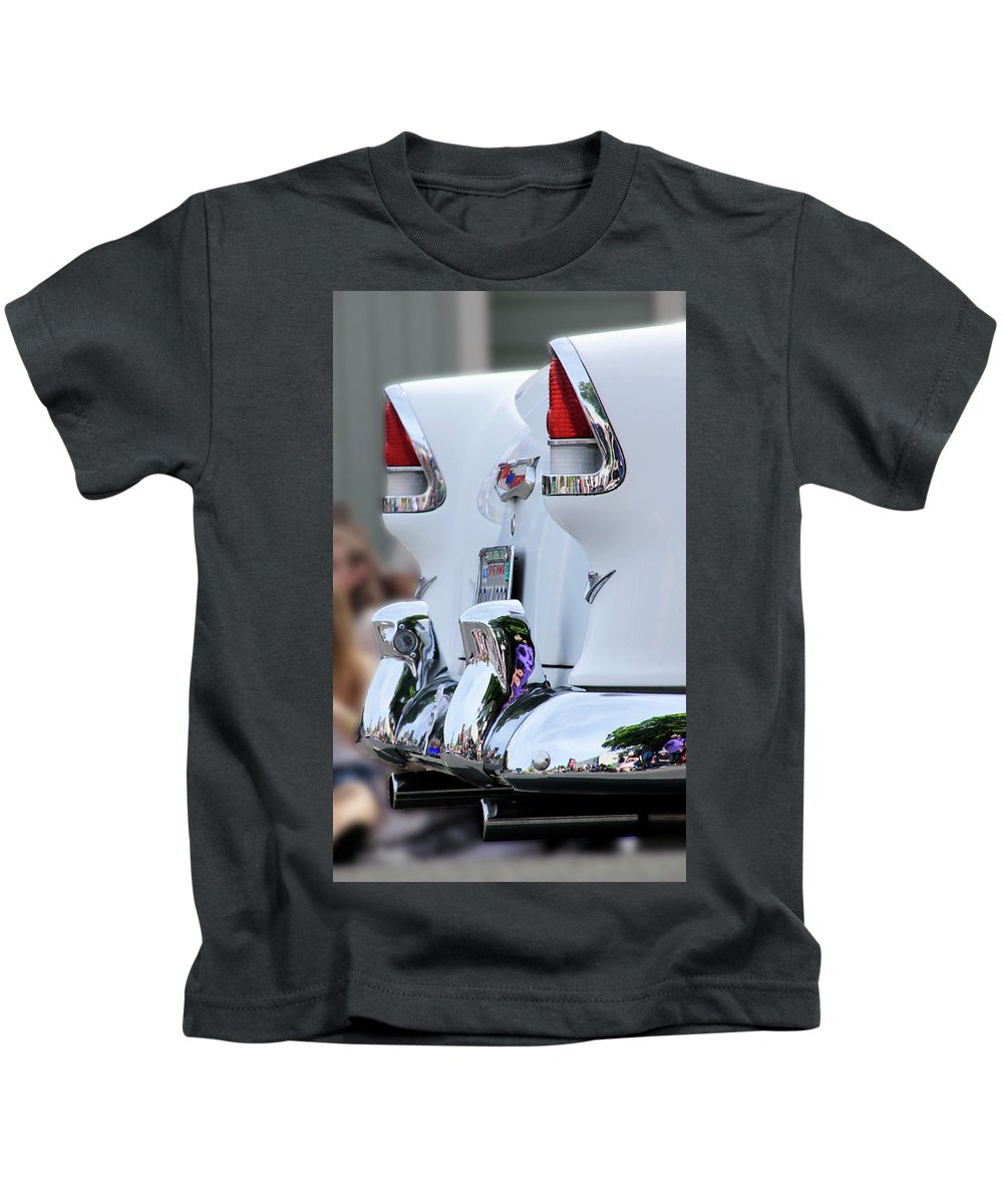 Chevy Kids T-Shirt featuring the photograph Clean And Bright by Pauline Darrow
