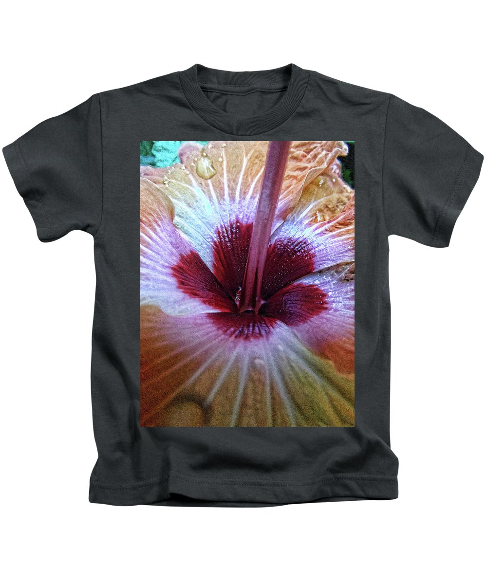 Nature Kids T-Shirt featuring the photograph Close-up On Nature by Pamela Kerti