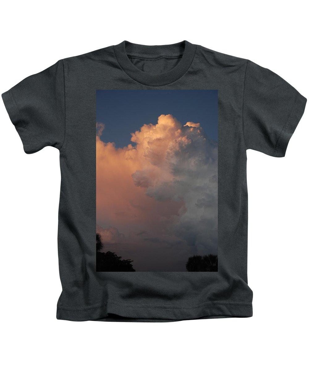 Clouds Kids T-Shirt featuring the photograph Clouds And More Clouds by Rob Hans