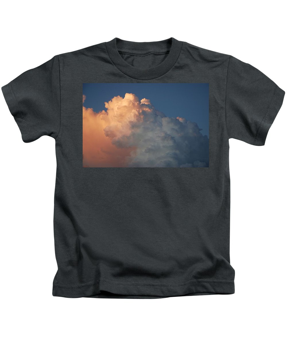 Clouds Kids T-Shirt featuring the photograph Clouds Are Always Greener by Rob Hans
