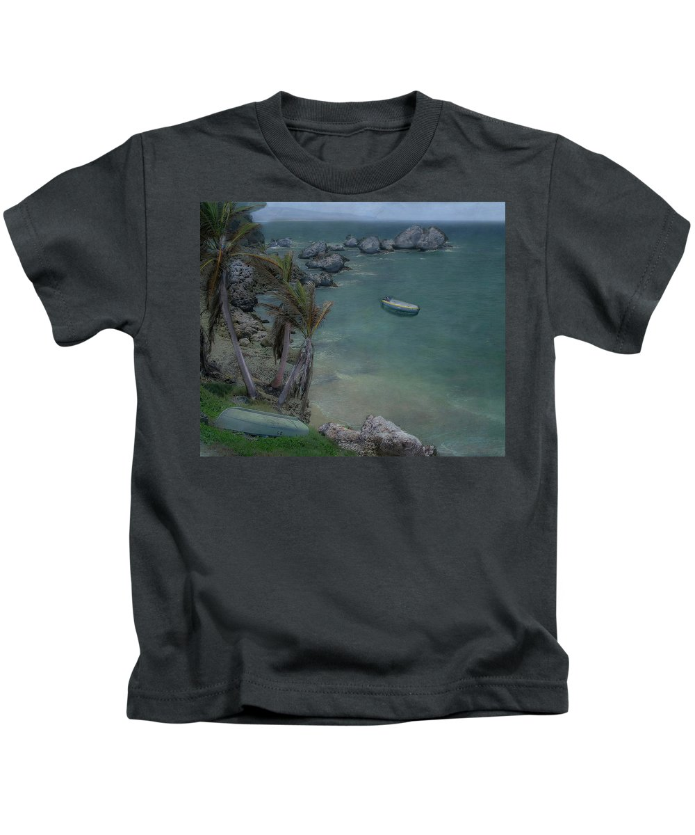 Marcia Lobel Photography Kids T-Shirt featuring the photograph Coastal Bliss by Marcia Lobel