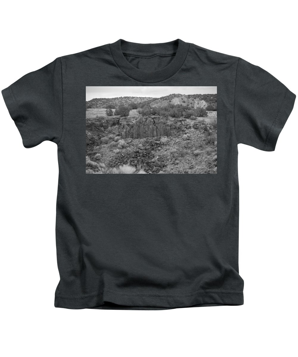 Rocks Kids T-Shirt featuring the photograph Cochiti Rocks by Rob Hans