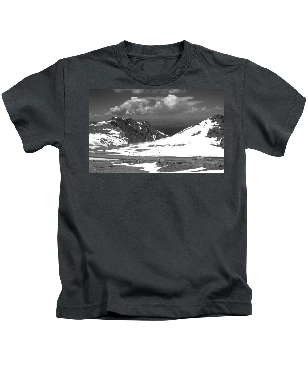 Colorado Kids T-Shirt featuring the photograph Colorado Mountians 1 by Anita Burgermeister
