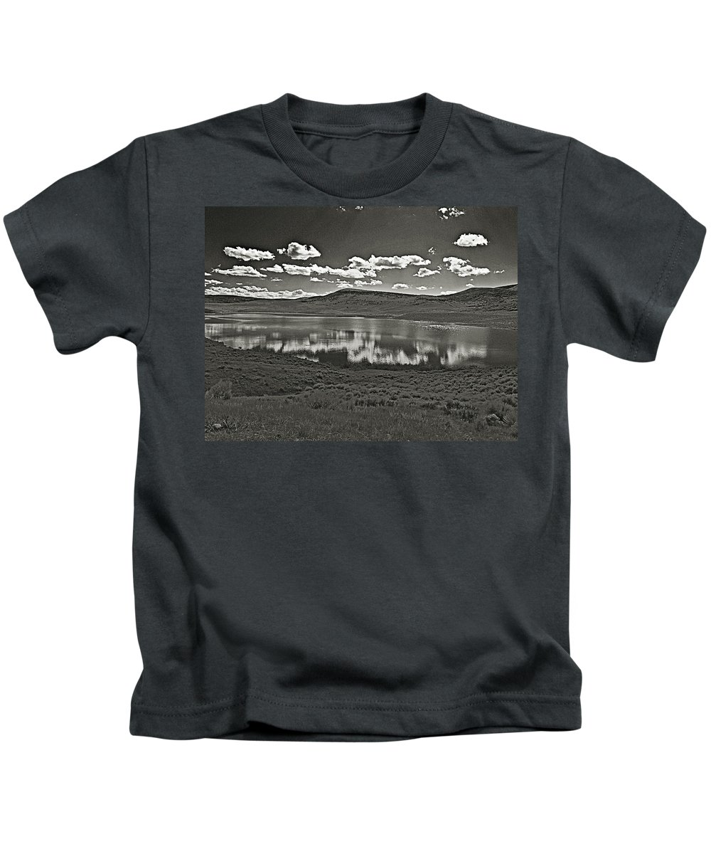 Colorado Kids T-Shirt featuring the photograph Colorado Reflections 1 by Joshua House