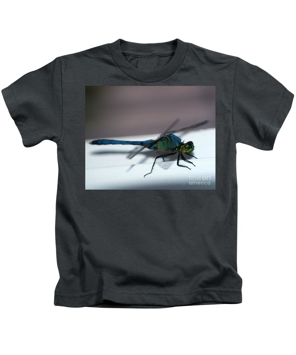 Clay Kids T-Shirt featuring the photograph Colorful Dragon by Clayton Bruster
