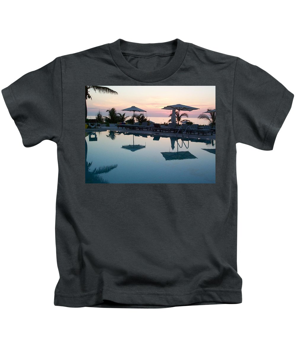 Charity Kids T-Shirt featuring the photograph Columbus Isle by Mary-Lee Sanders
