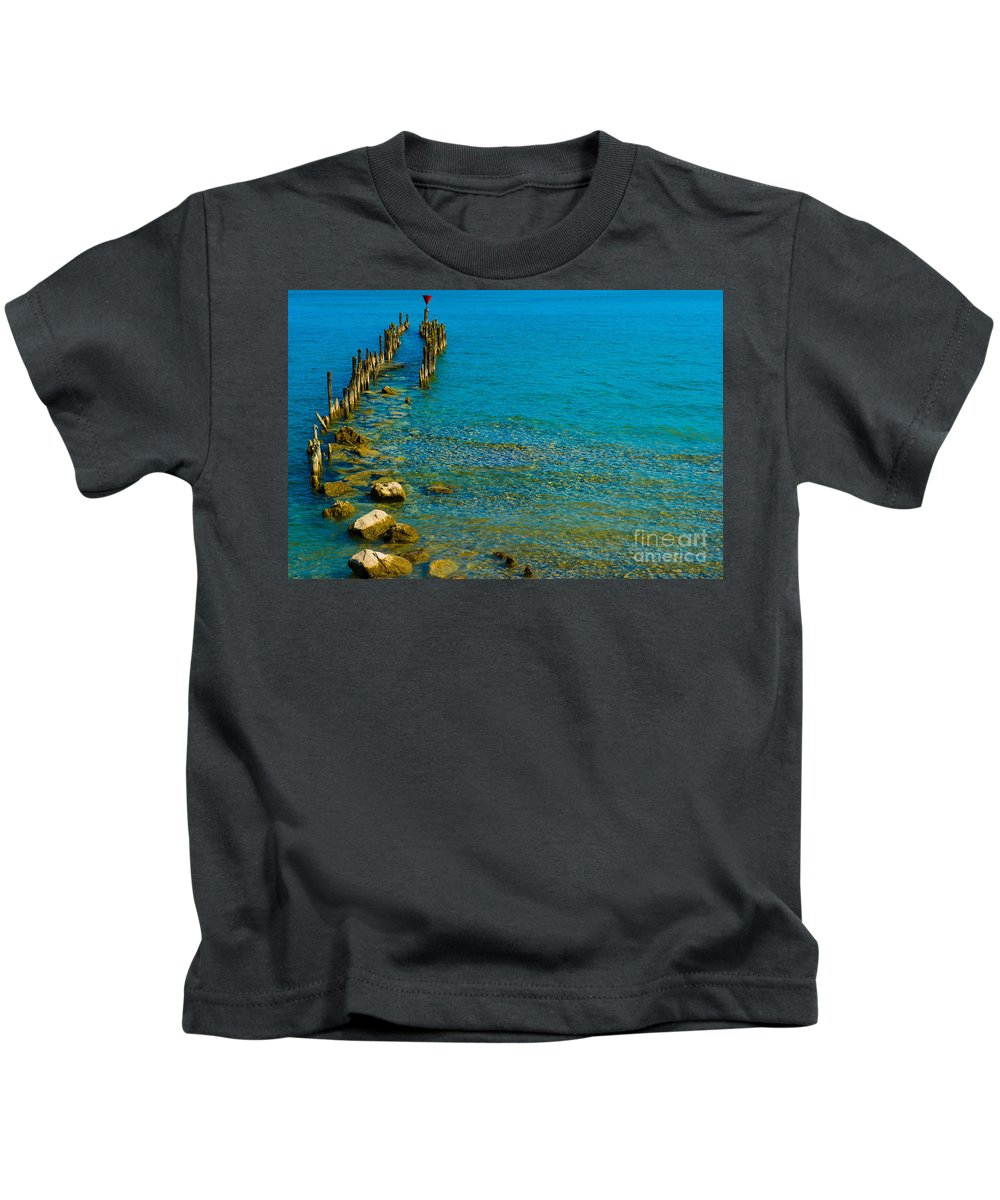 Neuschwanstein Kids T-Shirt featuring the photograph Constance Lake Landscape by Valerio Poccobelli