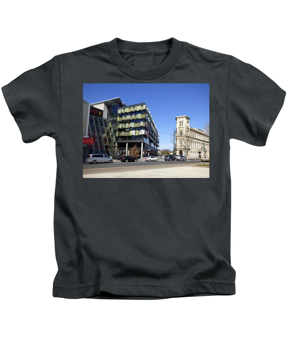 Modern Kids T-Shirt featuring the photograph Contrast In Age by Michaela Perryman