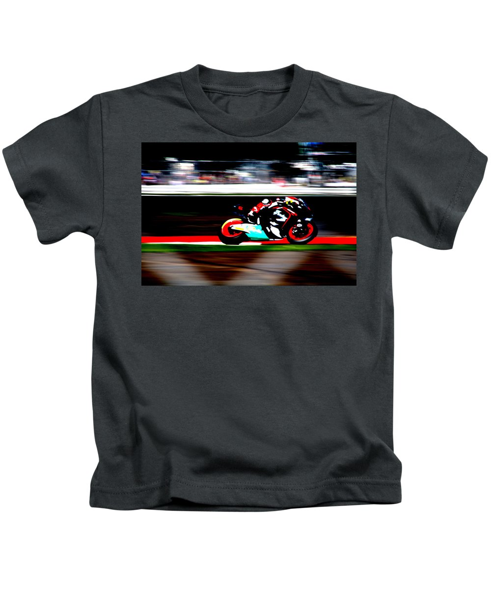 Contrast Kids T-Shirt featuring the photograph Contrast Series - 12 by Perggals - Stacey Turner