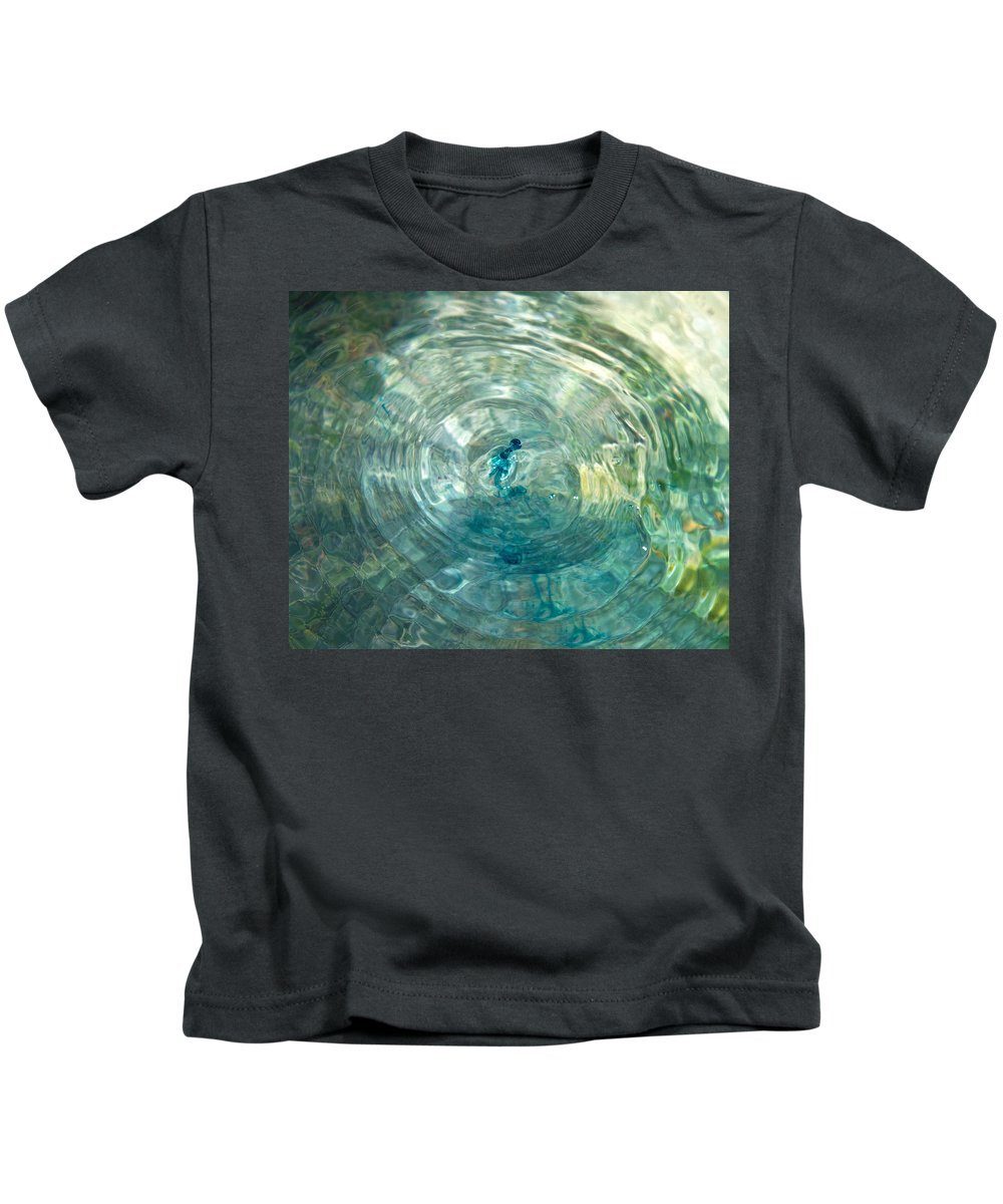 Water Kids T-Shirt featuring the photograph Cool Water by Betsy Knapp
