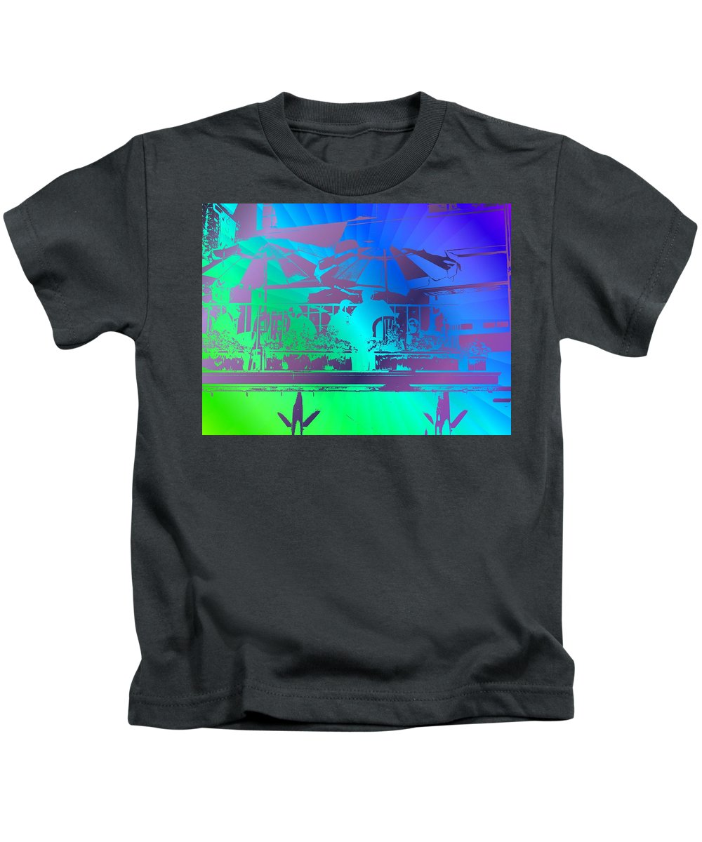 Seattle Kids T-Shirt featuring the photograph Copacabana by Tim Allen