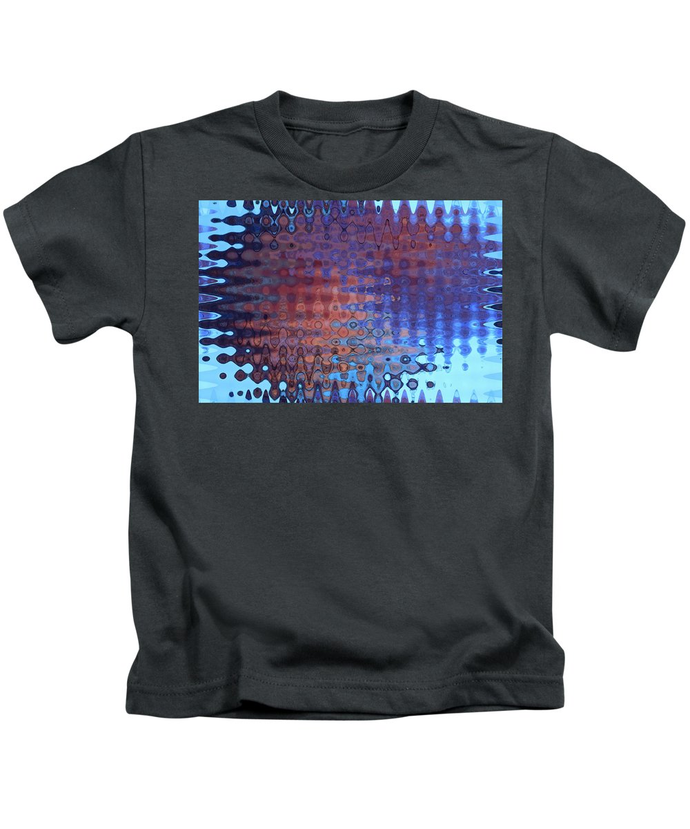 Abstract Kids T-Shirt featuring the photograph Coral Abstract by Carol Groenen